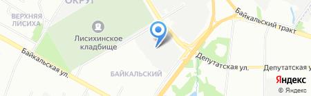 Prопаганdа на карте Иркутска
