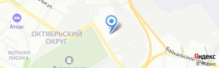 Мазда Центр Иркутск на карте Иркутска