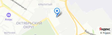 Центр Кузовного Ремонта на карте Иркутска