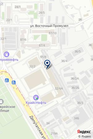 Азия-Моторс на карте Иркутска