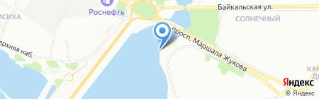 Авангард-Каскад на карте Иркутска