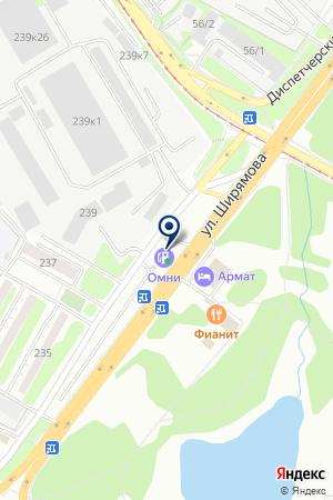ТФ АЗС-12 на карте Иркутска