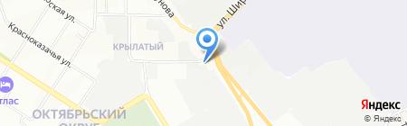 Uz-Daewoo на карте Иркутска
