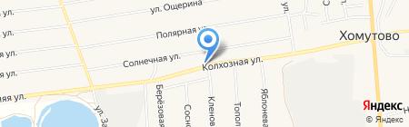 Рядом на карте Хомутово