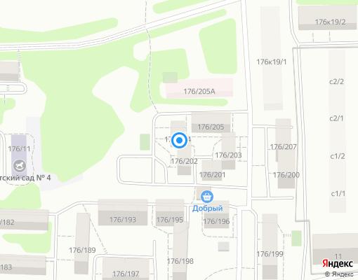 Управляющая компания «Вектор» на карте Иркутска