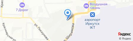 АвтоШум на карте Иркутска