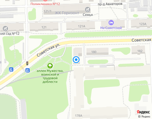 Управляющая компания «Авиатор Сибирь» на карте Иркутска