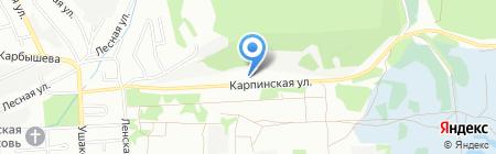 Архи-Мет на карте Иркутска