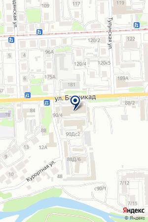 АВТОСЕРВИС ПЯТАКОВ И КОМПАНИЯ на карте Иркутска
