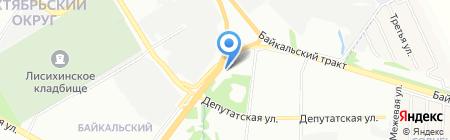 Авто Ресурс на карте Иркутска