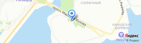 Дружба на карте Иркутска