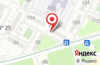Схема проезда до компании Бабр в Иркутске