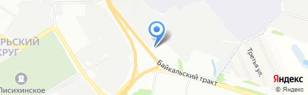 Арт Хай на карте Иркутска