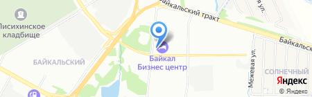 Нотариус Перфильева О.Р. на карте Иркутска