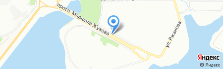 Овощи и фрукты на карте Иркутска