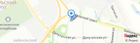Уют в доме на карте Иркутска