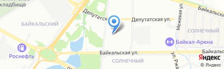 Иркутск Хостел на карте Иркутска