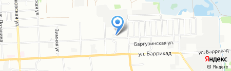 Магнат на карте Иркутска