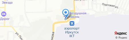 А-Мега на карте Иркутска