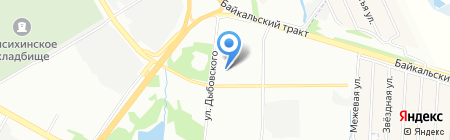 Тендер-Профи на карте Иркутска