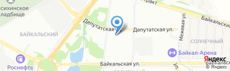 Спорт-Фейерверк на карте Иркутска