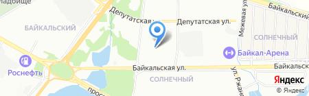 Иркутский технологический колледж на карте Иркутска