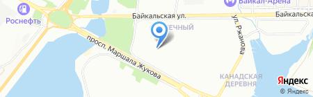 Департамент холода на карте Иркутска