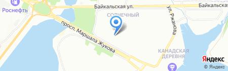 Nikol` на карте Иркутска