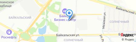 ИрГСХА на карте Иркутска