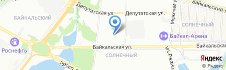 Тысяча и одна ночь на карте Иркутска