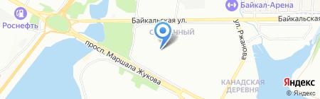 Колобок на карте Иркутска