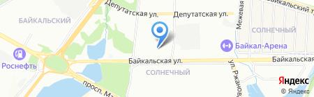 Мясная и рыбная лавка на карте Иркутска