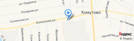 Авто Плюс на карте Хомутово