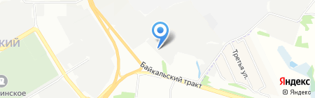 СахаТрансЭкспрессСервис на карте Иркутска