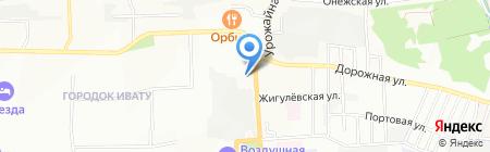 Русский фейерверк на карте Иркутска