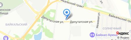 Прайм на карте Иркутска
