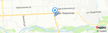 АвтоРио на карте Иркутска