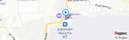 Пирожокъ на карте Иркутска