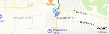 Тадж-Махал на карте Иркутска