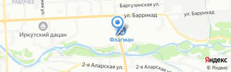 Ника на карте Иркутска