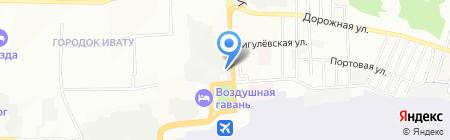 TLR на карте Иркутска