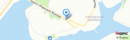 Саламандра на карте Иркутска