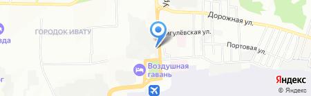 Стоп-авто на карте Иркутска