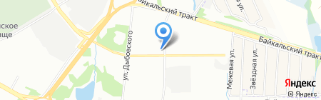 Почетное консульство Литовской Республики в г. Иркутске на карте Иркутска
