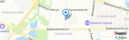 Общественная приемная депутата Иркутской городской Думы Квасова А.А. на карте Иркутска