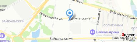 Камус Фирма на карте Иркутска