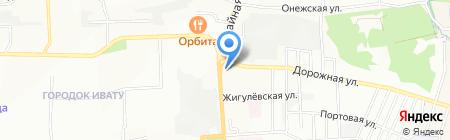 Автосалон на карте Иркутска