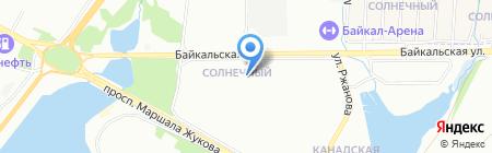 Детский сад №55 на карте Иркутска