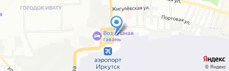 Джет Травел на карте Иркутска
