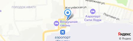 Иркутский линейный отдел МВД России на воздушном транспорте на карте Иркутска